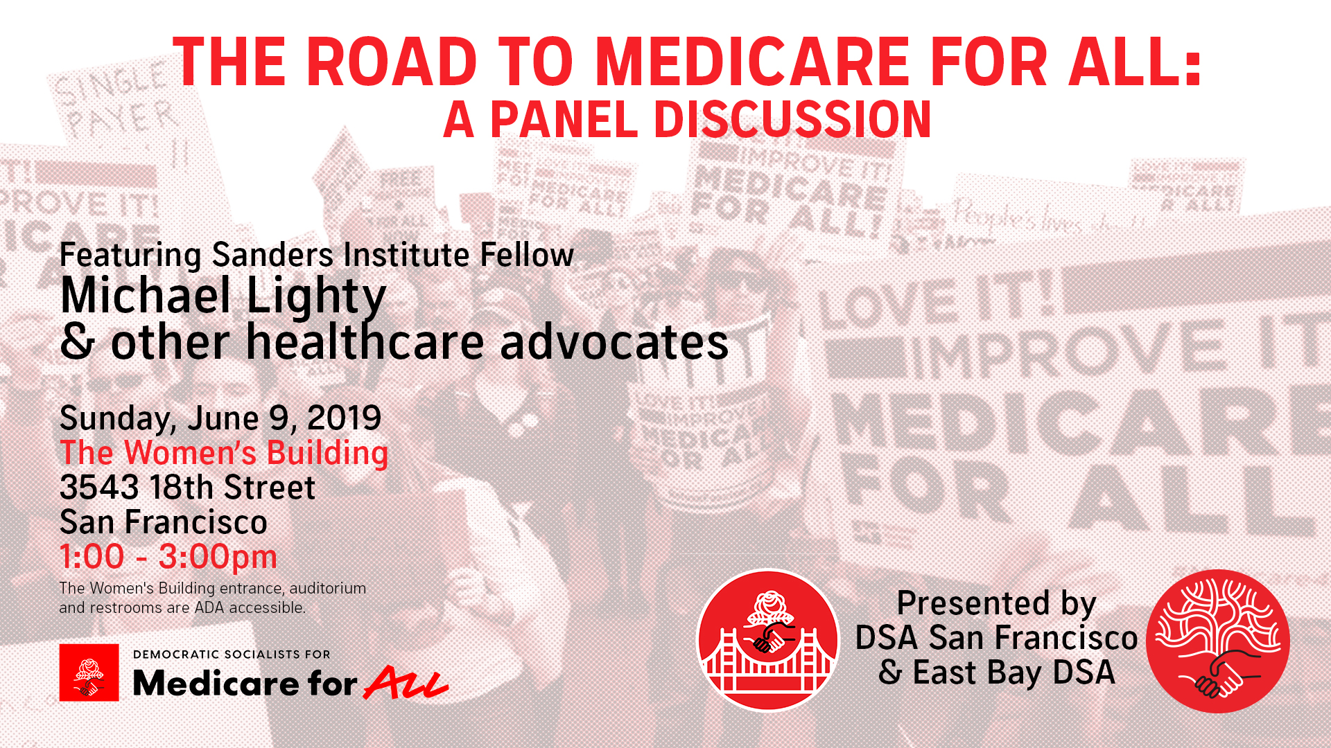 The Road to Medicare for ALL: A Panel Discussion @ The Women's Building